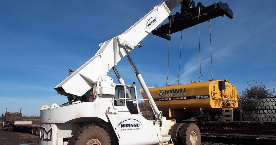 elevateur remorquage nirinnu entrepot conteneurs transport et logistique a scheffeville services canada 2019