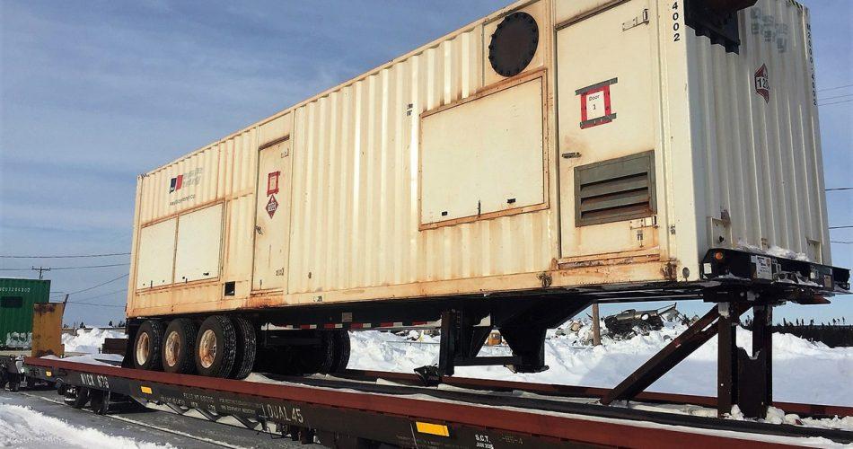 wagon-plat-generatrice nirinnu entrepot conteneurs transport et logistique a scheffeville services canada 2019
